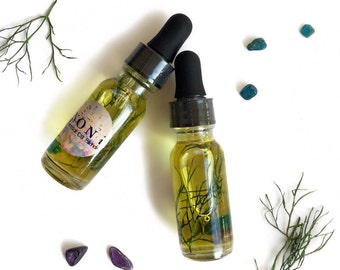 APPETITE SUPPRESSANT Essential Oil Blend infused with Organic Herbs & Crystals! Suppresses Appetite, Cravings, Weight Gain. All Natural!