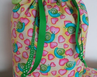 Snail Love  Bag