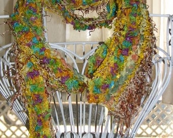 Sunshine and Flowers Scarf