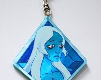 Blue Diamond and Pearl
