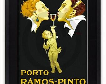 Porto Ramos - Pinto - Vintage Poster