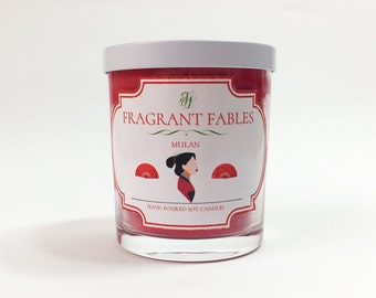 Mulan | Scented Soy Wax Candle