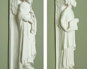 Baptistry Angel Architectural Reproductions Set of 2