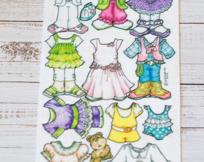 """Just For Girls Clothing - Extra clothes for the 7"""" Book Baby - La-Di-Doll."""