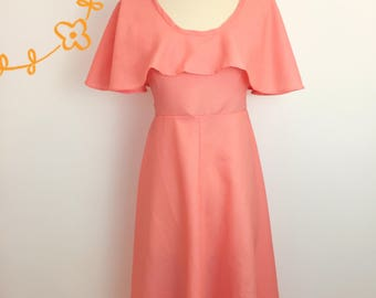 Vintage 1970s Handmade Dress