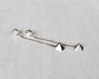 Earrings dangling GLi creation