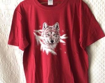 Red Wolf Shirt