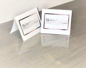 Custom business stationery, business thank you, logo stationery, business card, business note card, professional stationery, stationary logo
