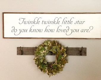 Nursery Sign | Nursery Wooden Sign | Nursery Decor