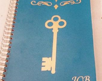 Website Password Notebook | Personalized Internet Password Notebook Foil Laminated Spiral Bound Personalized Website Address Password Book