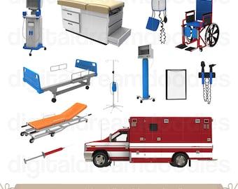 Ambulance clipart | Etsy | {Ambulance clipart 57}