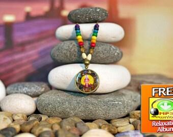 Chakra Necklace, Chakra Pendant, Chakra Jewelry Gemstone, Chakra Jewelry, Chakra Stones, Chakra Set, Chakra Art, Chakra Stone Set, Reiki