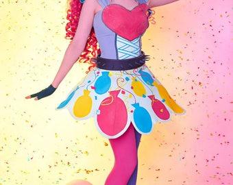 My Little Pony: Equestria Girls Rainbow Rocks - Pinkie Pie Cosplay Costume