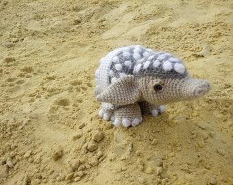 Amigurumi animals Crochet armadillo amigurumi doll Armadillo toy Stuffed animal Armadillo doll Stuffed armadillo plushie armadillo plush