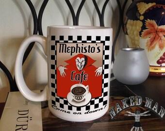 Mephisto Cafe 15 oz Coffee Mug
