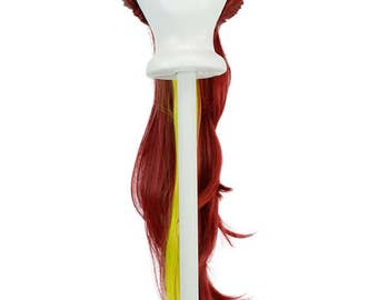 Shura - Pulled Back Wig Base with 32'' Pony Tail Clip