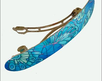 Mint Green Hair Clip - Butterfly Hair Slide - Fresh Green Hair Barrette - Turquoise Hair Accessory - Teen Girl Gift - Women's Hair Jewellery