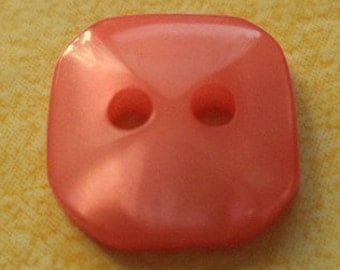10 small red buttons 12mm (3042) button