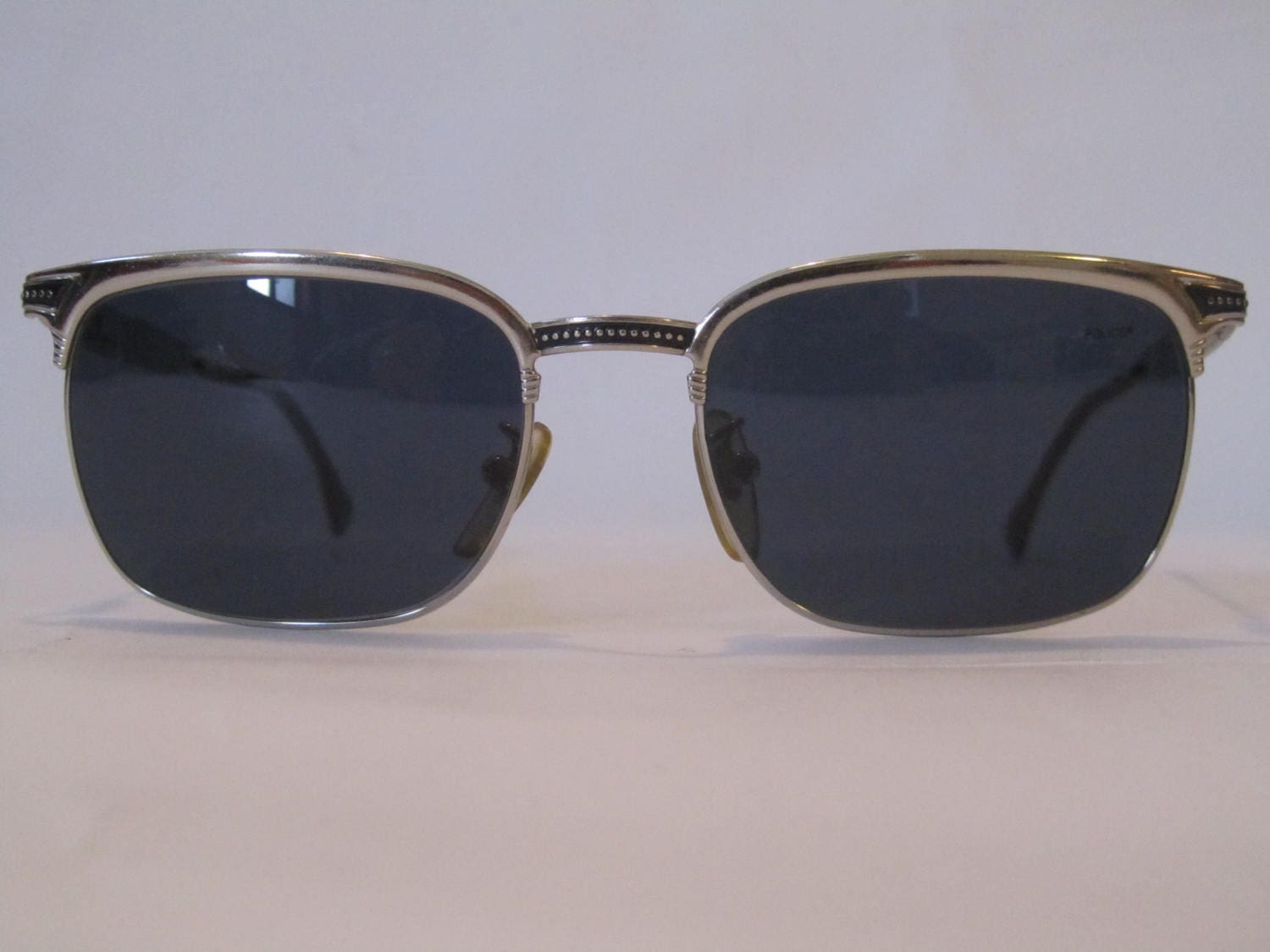 Vintage Sunglasses Police sunglasses clubmaster made in Italy