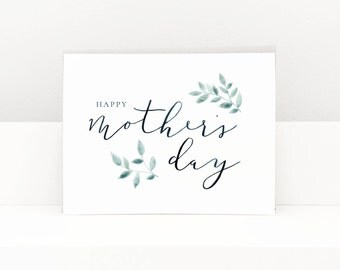 Mother's Day Card, Greeting Cards, Greeting Cards Handmade, Paper Handmade Greeting Cards, Mother's Day Cards, Blank Greeting Cards
