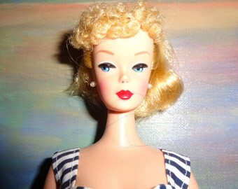 Beautiful Barbie Copy/ 90s/Look Ponytail 60s/Without dress/Vintage