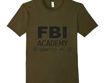 Custom Tshirt, Custom Shirt, FBI Federal Agent Bureau of Investigation T-shirt for Men and Women, Funny Tshirts