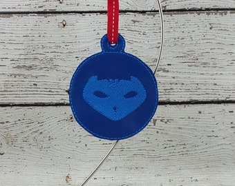 Blue Bedtime Hero Ornament/Gift Tag