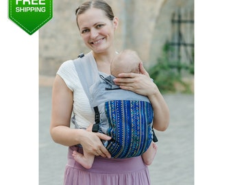 Adjustable Mei Tai Rombs. Baby Carrier Wrap, Mei Tai Baby Carrier, Toddler Carrier, Baby Carrier, Infant Carrier. Free shipping