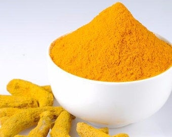 Organic Turmeric powder, pure and without any pesticides ( Pure Indian Haldi)