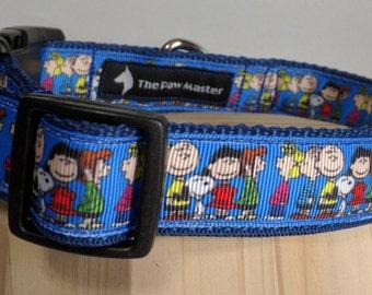 Peanuts Dog Collar - Charlie Brown Dog Collar FREE Shipping