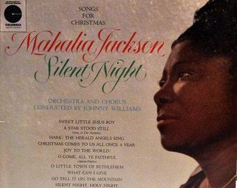 Mahalia Jackson –Silent Night - Songs For Christmas  1962 ( LP, Album, Vinyl Record ) Holiday Music