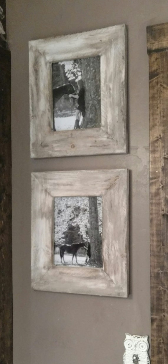 Farmhouse Picture Frame 8x10 D 233 Cor Rustic White Reclaimed