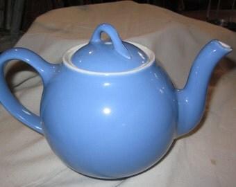 Vintage light blue Hall teapot