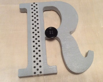 "Whimsical Letter ""R"""