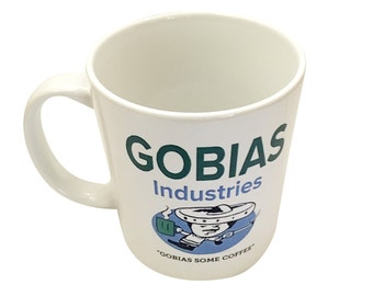 Gobias Industries Mug From Arrested Development TV Show Coffee Cup Gobias Some Coffee Go Buy Us Gob Bluth Tobias Funke Quote Gift 11oz White