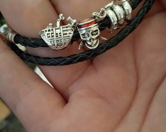 Pirates of The Caribbean inspired charms (fit Pandora)