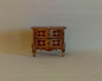Vintage Italian Florentine Jewelry Box Arnetoli Bonamici