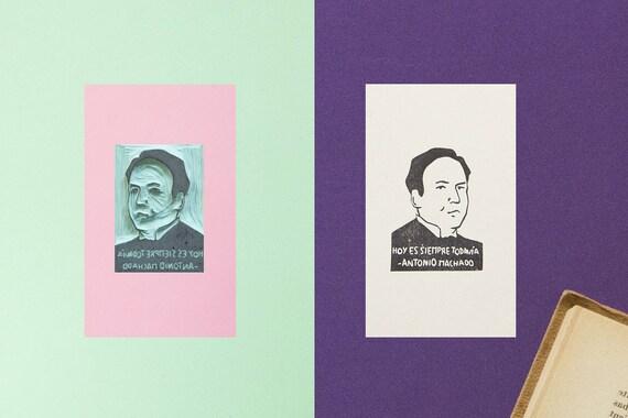 Antonio Machado Stamp