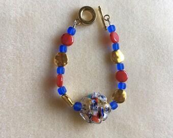 Venetian Bead Bracelet