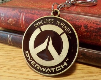 Overwatch Metal Keychain