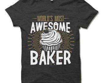 Baker Shirt. Gift for Baker.