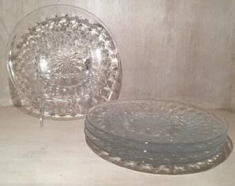 vintage etched glass etsy. Black Bedroom Furniture Sets. Home Design Ideas