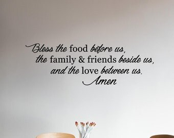 Bless This Family Quotes | Family Wall Decal | Family Decor | Family Wall Decal | Quote Decal | Quote Wall Decal | Wall Quotes | Decal Quote