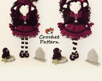 Amigurumi Pattern / Crochet Doll Pattern / Photo Tutorial / Instant Download