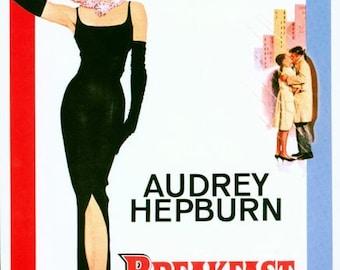 Breakfast at Tiffanys Movie Poster  A3/A2/A1 Print