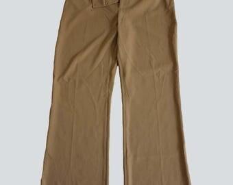 Vintage Trousers // Vintage beige trousers // 80s