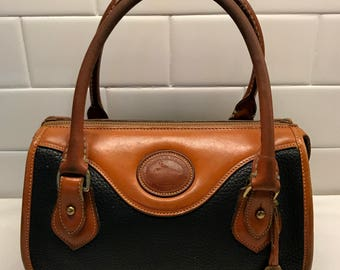 Dooney & Bourke All Weather Leather Satchel Handbag