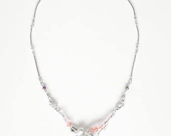 Necklace Swarovski elements