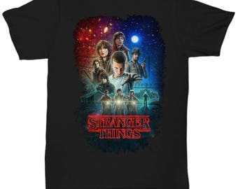 Stranger Things shirt Tee  T-shirt  S - M - L - XL - XXL - XXXL  , Tv Show/Sci Fi/ Netflix Series shirt ,v7
