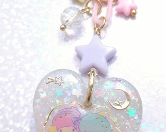 Little Twin Stars cell phone charm
